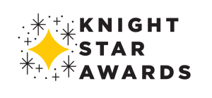 Black and Gold logo for the UCF Knight Star Awards