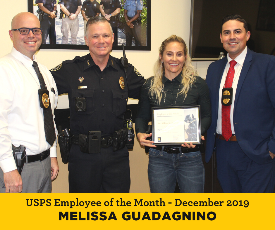 Melissa Guadagnino is UCF Employee of Month for January 2020