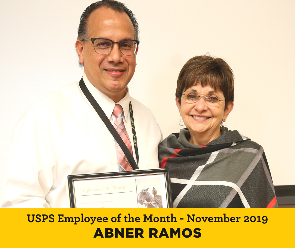 Abner Ramos UCF Employee of the Month
