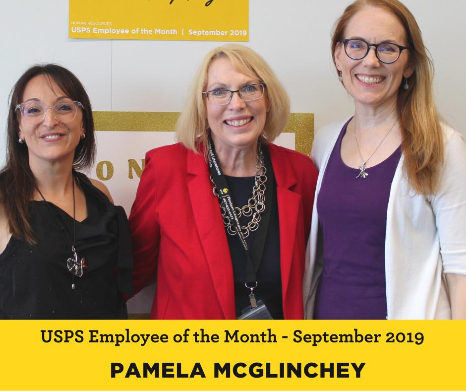 Pamela McGlinchey USPS Employee of the Month 2019