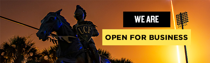 We Are Open For Business - UCF HR